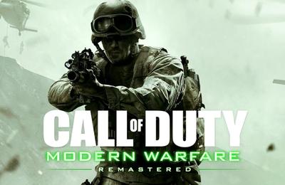 Call of Duty Modern Warfare Remastered en approche !