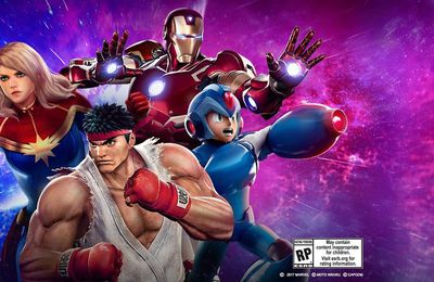 Trailer de lancement pour Marvel vs Capcom Infinite