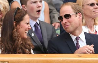 Kate encourage Andy Murray
