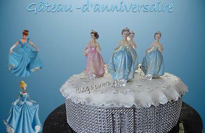 """Gâteau d'anniversaire""""Princesses """""""