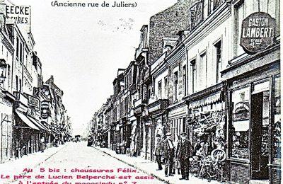La rue de Juliers à Lille (devenue rue de Juillet puis rue Jules Guesde)