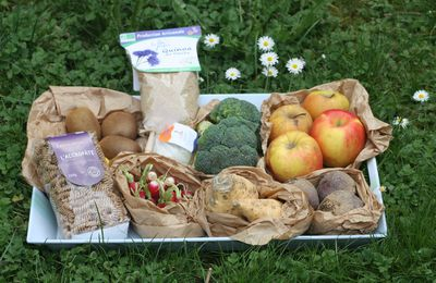 un nouveau partenaire : ORGAYA, place de marché bio + deux petites recettes (DIP pour crudités et rutabagas rôtis)