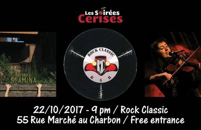 ▶ Seesayle (new album Stamina release party) @ Rock Classic - 22/10/2017 - 20h30 - Entrée gratuite !