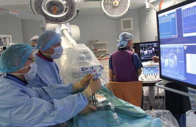 Nouvelle technique pour réparer les valves cardiaques (MetraClip): CHU de Rennes