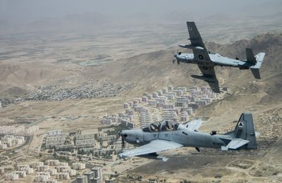 Les Etats-Unis vont commander quatre A-29 Super Tucano supplémentaires pour l'Afghanistan