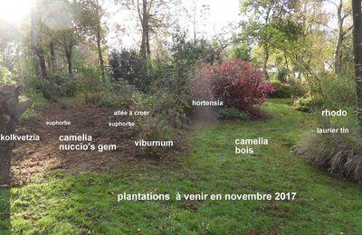 plantations à venir