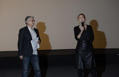 Julie Gayet et Thierry Buffetaud au festival des 6 trouilles
