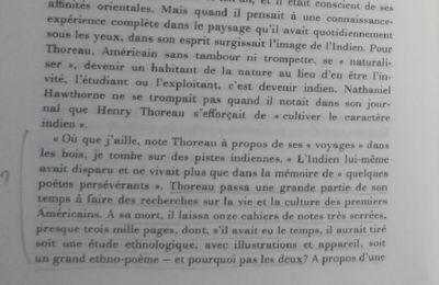 Thoreau l'Indien