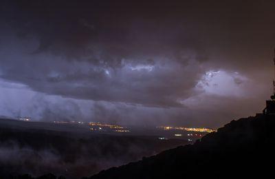 lightning sur le Roussillon