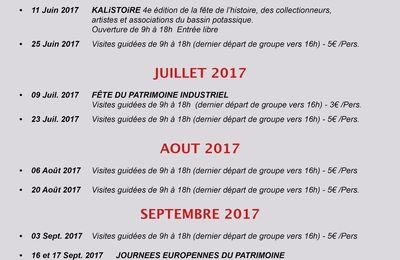 Programme d'ouverture du carreau Rodolphe 2017