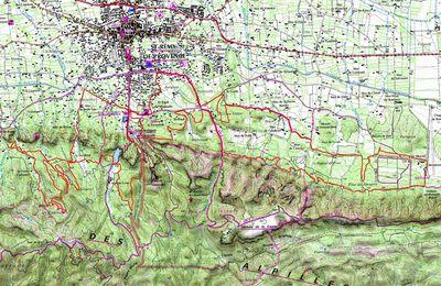 La Romanin des Alpilles à Saint Rémy de Provence le 19 mars 2017