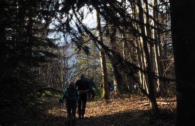 LA-HAUT RANDO du Col du grand Cucheron au fort de Montgilbert par les crêtes.