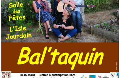 Bal à L'Isle Jourdain le 8 avril 2017