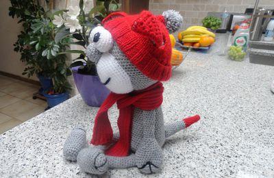 un drôle de petit chat