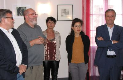 Vernissage de l'exposition de Sun Hee Lee au Saint-Jacques