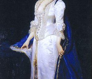 1887: La reine du Portugal, Maria Pia à Carcassonne