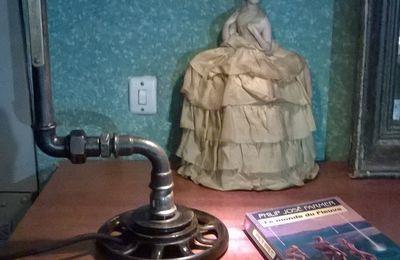 """Lampe steampunk """"Saint André"""""""