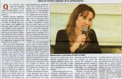 Conférences : Presse