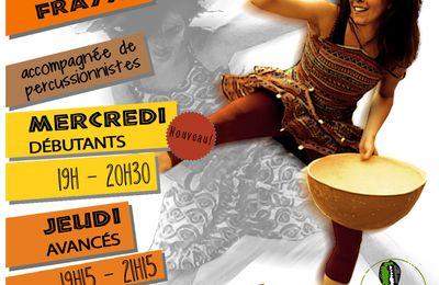 NOUVEAUX COURS DE DANSE AFRICAINE A LA RENTREE !!!!
