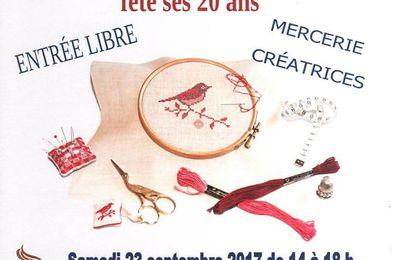 Salon de Longecourt en Plaine (21) les 23 et 24 septembre 2017