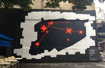 Performance 237 Le Mur de Emilie Aleteïa Garnaud