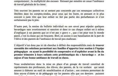 Brèves du conseil d'Administration du lycée Jean Monnet du 27 avril 2017 «Compte Financier»