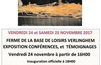 Patrimoine du Val de Deûle, les 24 et 25 novembre : L'or du Lin à la Base de Loisirs Pérenchies - Verlinghem