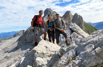La Pointe de Chombas (2468m) depuis le col des Annes (Massif des Aravis - Haute-Savoie)