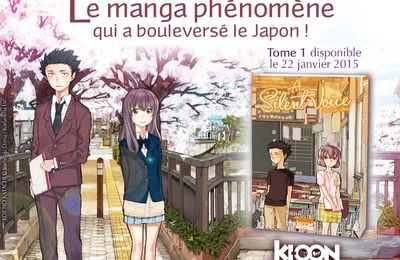 "Le film ""A Silent Voice"" sélectionné au Festival international du Film d'Animation d'Annecy"