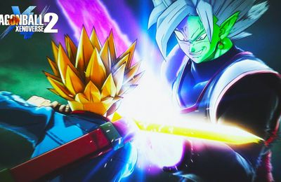 Dragon Ball Xenoverse 2 : Zamasu fusionné et trunks se montre en trailer pour le DLC#4