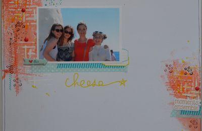 """Cheese"" tournoi Scrapbookit challenge 2"