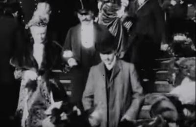 Recommandé par un dîneur-avec-Proust le film: Lumière! L'aventure commence, et Marcel Proust filmé