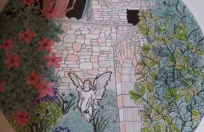 Anges et jardins - Pensée pour Mona - Lenaïg