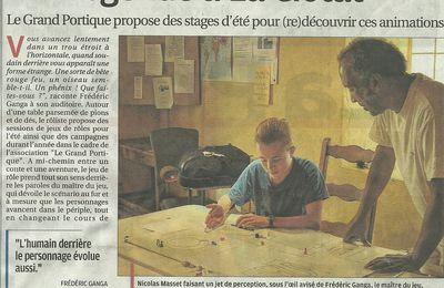 STAGES DE JEUX DE RÔLES POUR LES 9-17 ANS PENDANT L'ÉTÉ 2017 A LA CIOTAT