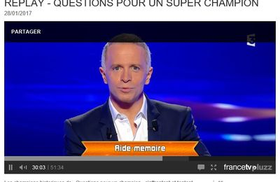 Question pour un champion