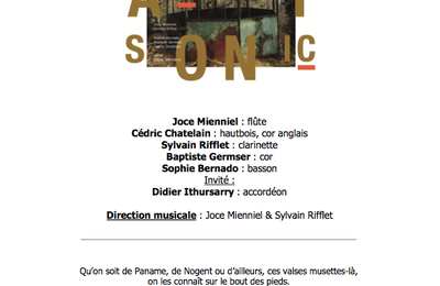 Pendant le week-end des Portes Ouvertes d'Artistes de Montreuil un bien joli concert se prépare à la Maison du parc samedi 14 octobre de 16h à 18h