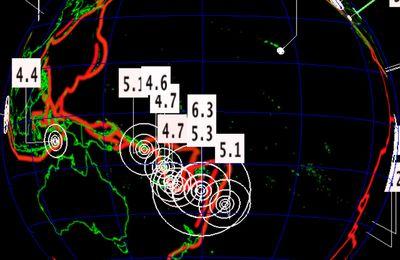 Séisme de magnitude 6.3 aux Îles Fidji