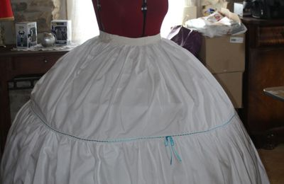 Mon jupon second empire - My civil war petticoat