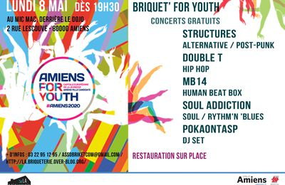 Briquet' for youth - Structures, Double T, MB14, Soul Addiction, Pokaontas P