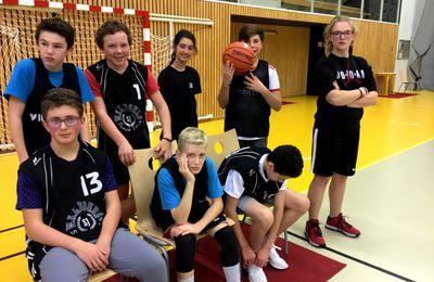 UNSS Basket Minimes vu par Maëlie