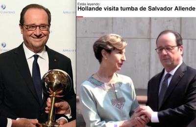 Kissinger ou Allende? Hollande célèbre l'assassin et sa victime (Panamza)