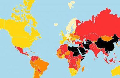 La liberté de la presse de plus en plus menacée dans le monde (Bastamag)