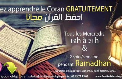 FSIP: Cours Gratuits de Coran