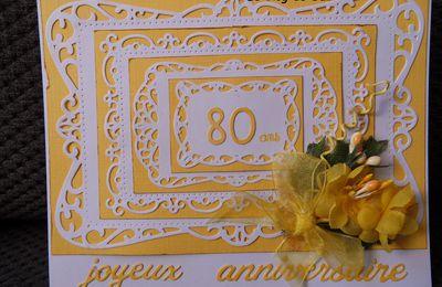 Carte anniversaire femme 80 ans (suite)