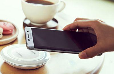 Test - Plaque de chargement Samsung Galaxy S8 Sans Fil Qi Charge Rapide - Noire