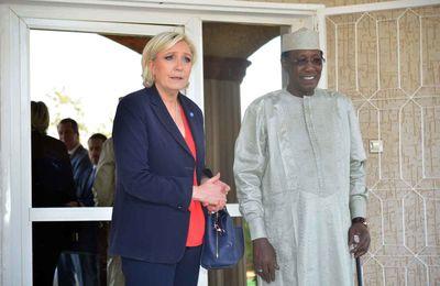 Tchad-France : Idriss Deby et Marine Le Pen tentent de rapprocher leurs points de vue