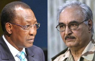 Tchad –Libye : Deby et Khalifa Haftar se coalisent contre la communauté Toubou et la rébellion tchadienne