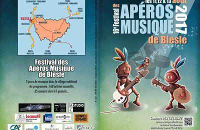 Les apéros Musiques de Blesle organise son Festival, 2017