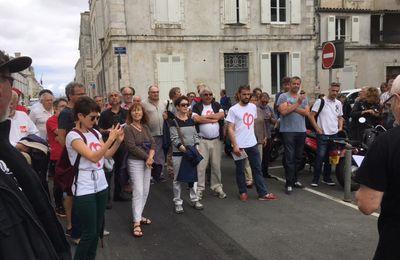 Résistance rochelaise à la loi travail 2 en marche pour écraser les salariés