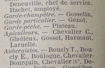 Des almanachs-annuaires - 1914
